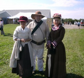We wear history three living history participants